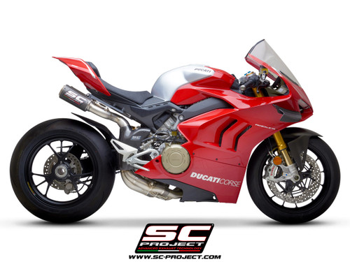 SC Project Titanium WSBK Full exhaust system Ducati Panigale V4 / V4 S (all years)