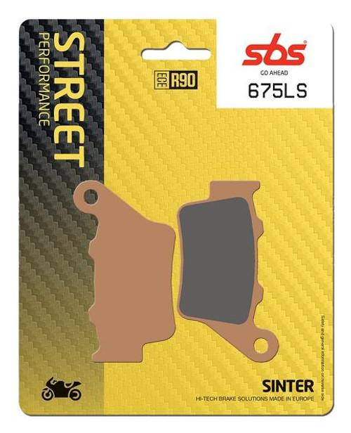 SBS Street Excel Sintered Rear Brake Pads (LS) OEM Replacement BMW S1000RR