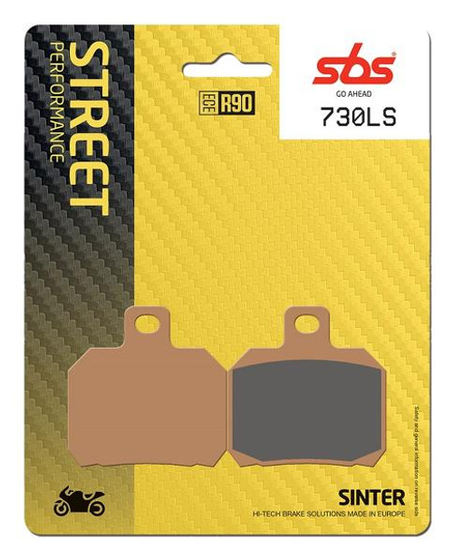 SBS Street Excel Sintered Rear Brake Pads (LS) OEM Replacement Ducati/Aprilia/MV Agusta