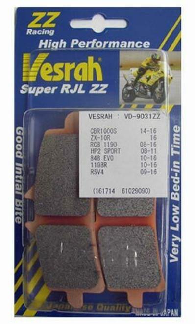 Vesrah Super RJL ZZ High-Performance Race Front Brake Pads Aprilia RSV4/Ducati Panigale/MV Agusta F3 800