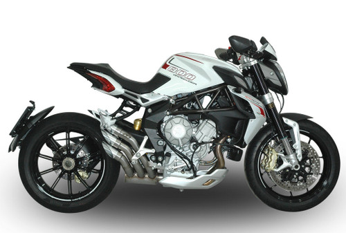 QD Power-Gun Slip-On Exhaust MV Agusta Dragster/Brutale/F3 /Rivale 2012-2016