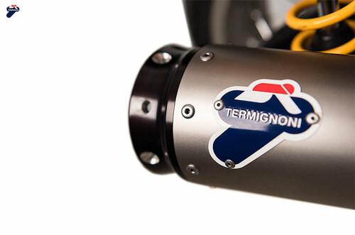 Termignoni Conical Stainless Dual Slip-On Thruxton (16-19)