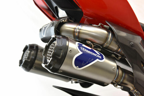 Termignoni Stainless Full System Panigale V4/R/S/Speciale (18-21)