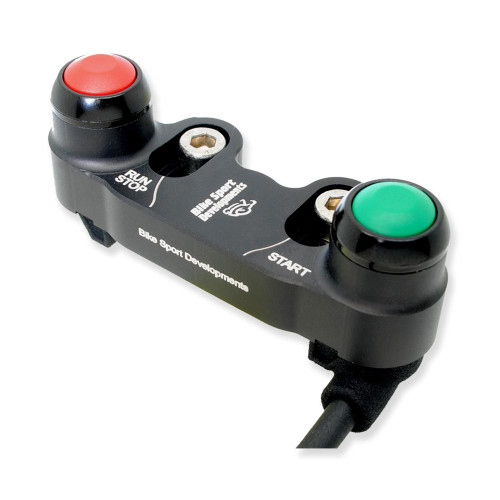BikeSportDevelopments - Ducati V2 - 2 function - Brake pump mount - Stop/Run, Start