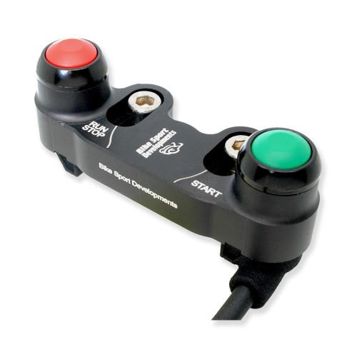 BikeSportDevelopments - Ducati 749 999 - 2 function - Brake pump mount - Stop/Run, Start