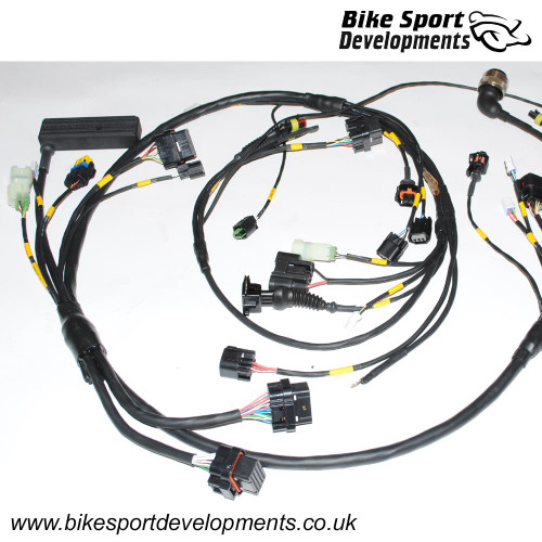 BikeSportDevelopments - Race specification wiring / Ducati 848 1098 1198 749 999 998 996R