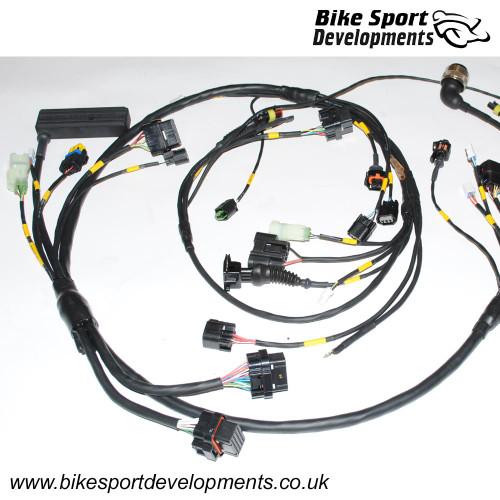 BikeSportDevelopments - Race specification wiring / Ducati 899 / 1199 / 959 / 1299 / SL
