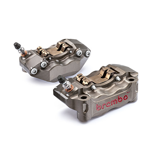Brembo HPK 2-Pin CNC 2-Piece 30/34 Brake Caliper Set 100mm