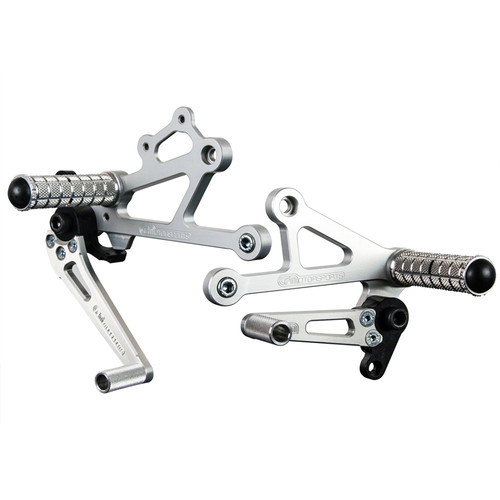 Woodcraft Ducati 750SS-1000SS/Paul S./Sport Classic Rearset Kit Std or GP Shift
