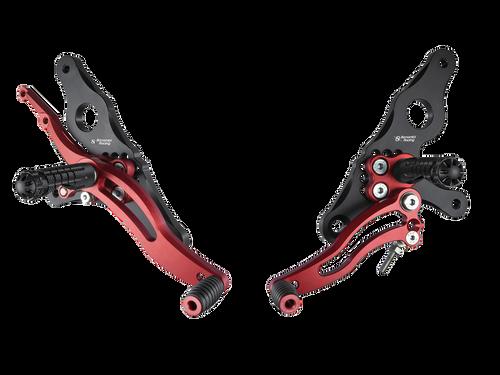 "Bonamici Ducati Hypermotard Rearsets (07-12)(""GP"" Shift)"
