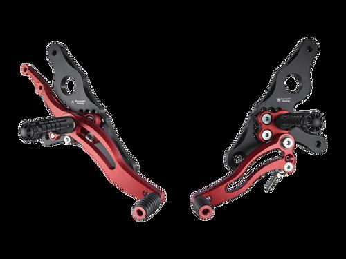 Bonamici Ducati Hypermotard Rearsets (07-12)