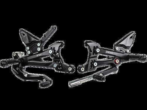Bonamici Ducati Panigale V4 Rearsets (2018+)