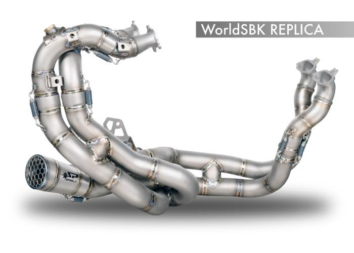 "Spark Ducati Panigale V4R ""SBK Replica"" Titanium Exhaust System"
