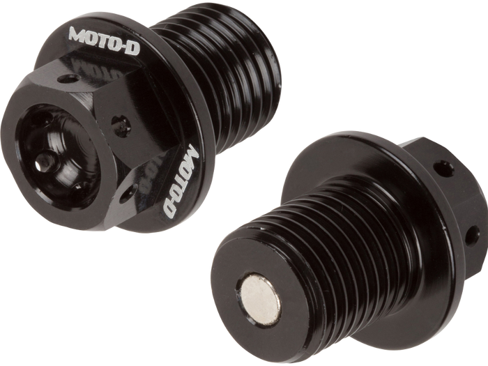 MOTO-D Magnetic Drain Bolt for Motorcycles