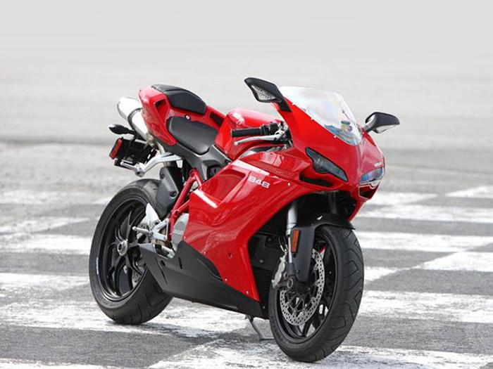 Ducati 848 / EVO Radiator & Oil Guard Set