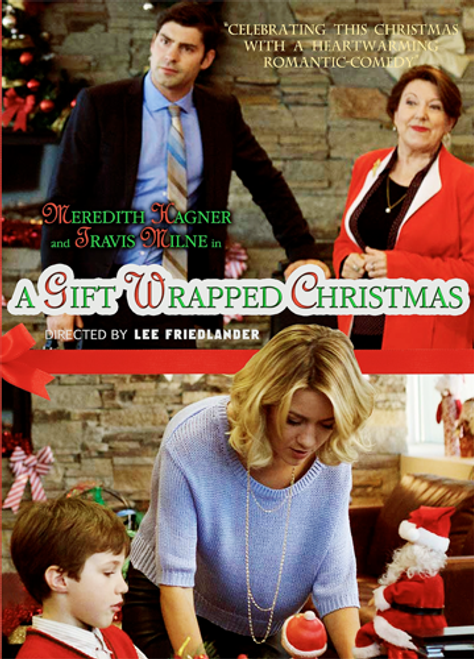 A Gift Wrapped Christmas (2015) DVD