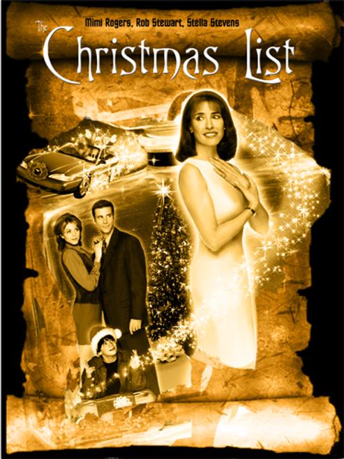 The Christmas List (1997) DVD