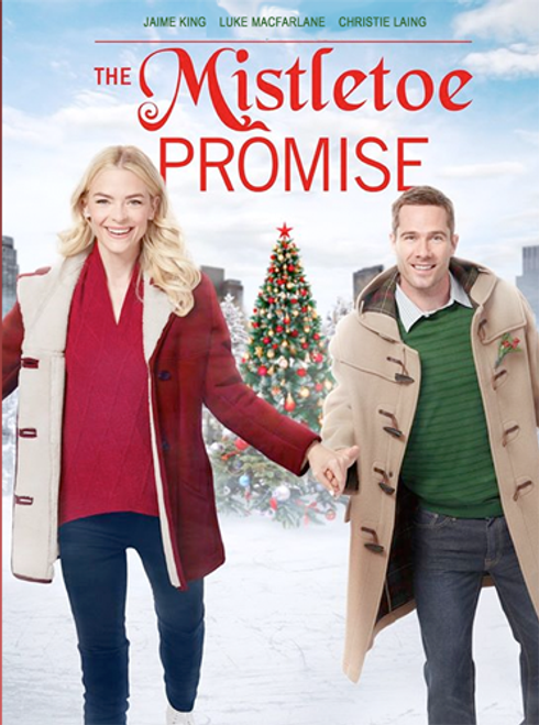 The Mistletoe Promise (2016) DVD