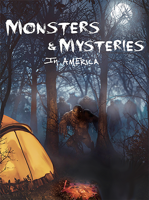 Monsters and Mysteries in America - Complete Seasons (1-3) BOXSET DVD