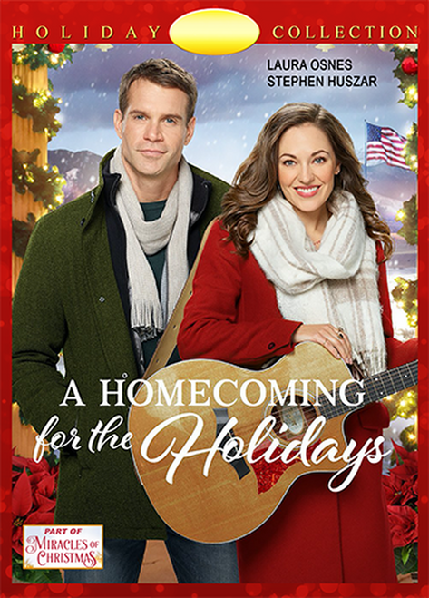 A Homecoming for the Holidays (2019) DVD