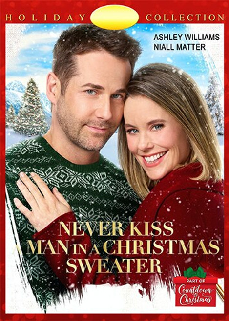 Never Kiss a Man in a Christmas Sweater (2020) DVD