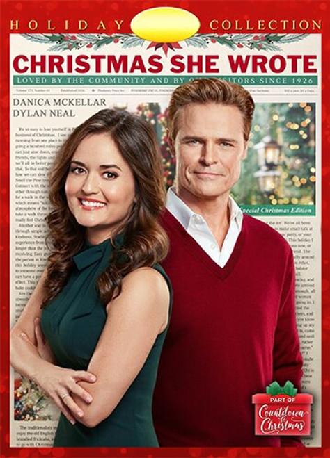 Christmas She Wrote (2020) DVD