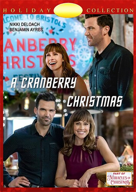 A Cranberry Christmas (2020) DVD