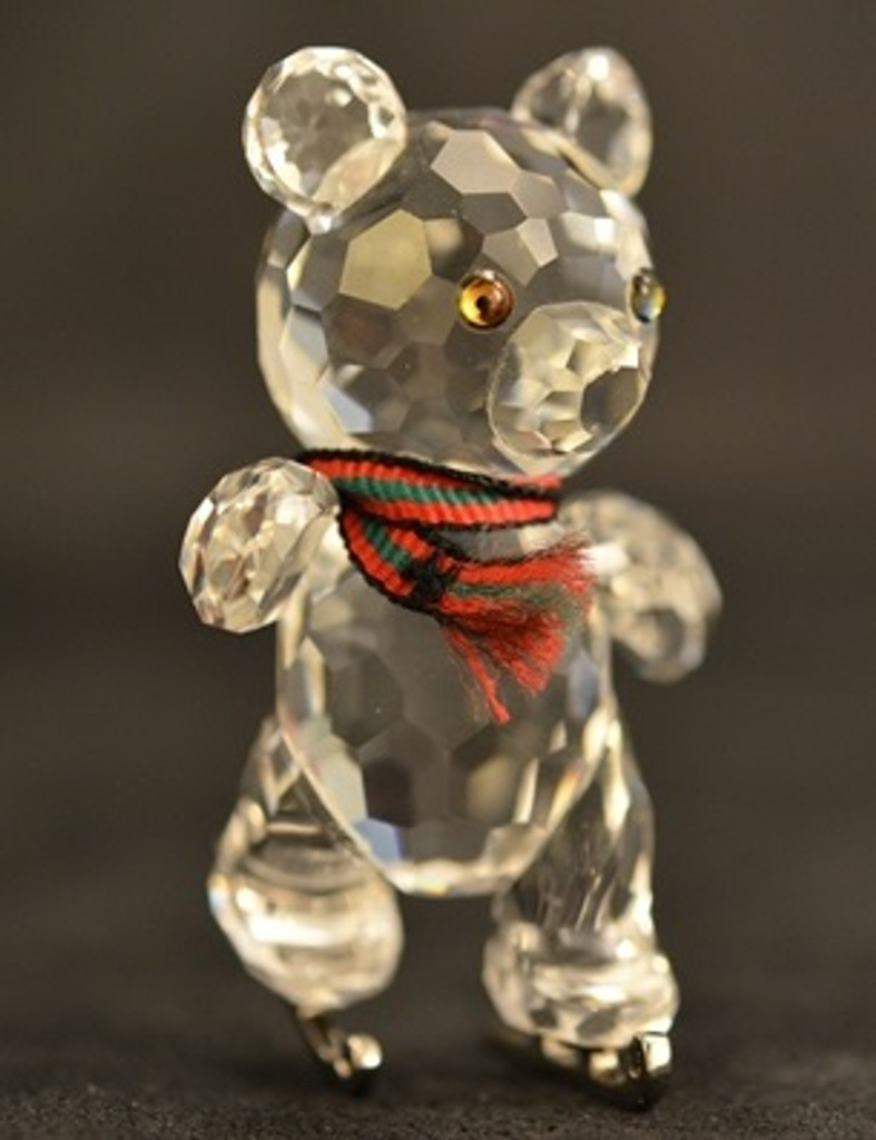Swarovski Kris Bear with Skates SIGNED