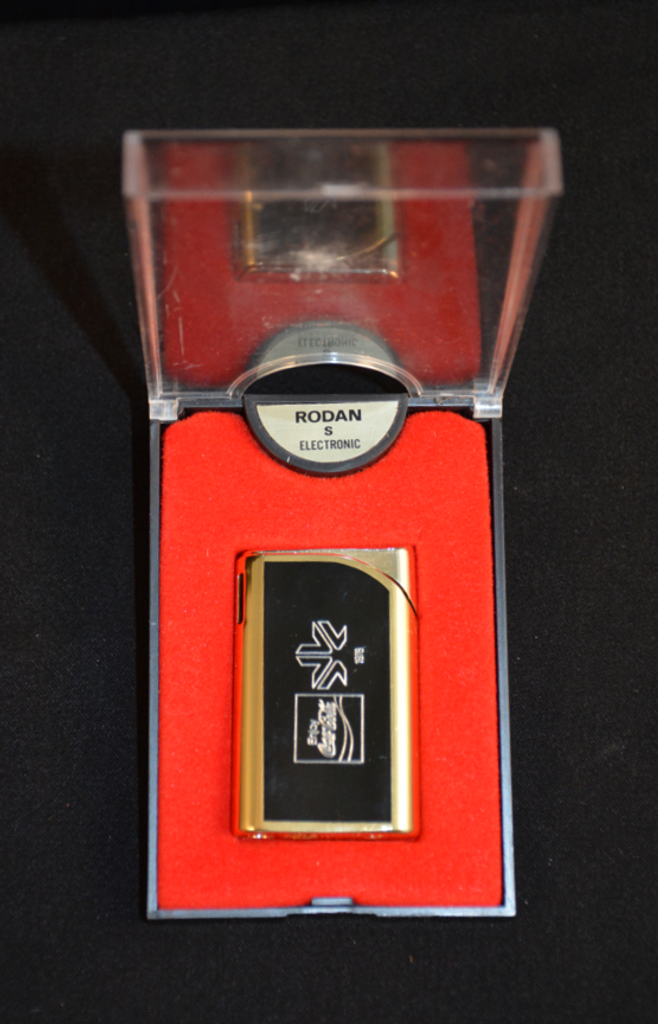 Retro 1978 Coca-Cola Rodan Lighter Commonwealth Games