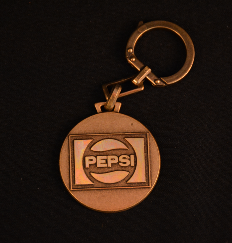 Pepsi Cola Key Chain