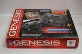Boxed SEGA Genesis Video Game Console and Bundle, 1993.  A great collector's item, in good condition, and in working order.     With original box.  TY65809