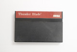 "Sega Master ""Thunder Blade"" vintage 1990s video game cartridge.  In good condition and in working order.  TY65813"
