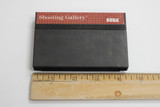 """Sega Master """"Shooting Gallery"""" 1990s video game cartridge.  In good condition and in working order.  TY65814"""