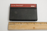 "Sega Master ""Great Baseball"" vintage video game cartridge.  In good condition and in working order.  TY65817"