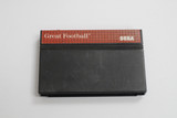 "Sega Master ""Great Football"" vintage video game cartridge.  In good condition and in working order.  TY65816"