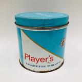 Vintage, Metal, Round, Player's, Tobacco Tin, Canister