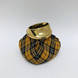 Ash Tray, Beanbag, Vintage, Plaid cloth, Retro, 1950s