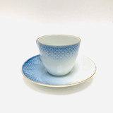 B & G, Bing and Grondahl, Seagull, Bird, Flying, Cup and Saucer, Tea Cup, Blue, White, Vintage