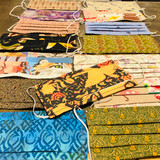SOME of the other face mask textiles available.