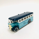 "Lledo, Models of Days Gone, 1:60 scale, #17, Sky Blue, Bus, Coach, promotional for ""Hamley's The Finest Toyshop in the World,"" die cast, model, vehicle"
