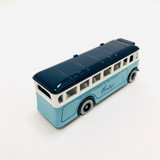 """Lledo, Models of Days Gone, 1:60 scale, #17, Sky Blue, Bus, Coach, promotional for """"Hamley's The Finest Toyshop in the World,"""" die cast, model, vehicle"""