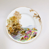 """Shelley, Heather, Plate, 7"""", Vintage, 1930's, 1940's"""