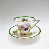 Royal Doulton, Glamis Thistle, Fine Bone China, Cup, Saucer, Cup and Saucer, Vintage, England
