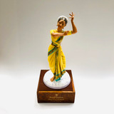 Royal Doulton, Indian Temple Dancer, India, HN 2830, Figurine, Ceramic, Limited Edition, 1976, Peggy Davies