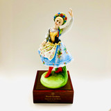 Royal Doulton, Dancers of the World, Polish Dancer, Poland, HN 2836, Figurine, Ceramic, Limited Edition, 1980, Peggy Davies
