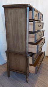 Two tier highboy, 6 drawers, Stanley