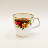 Royal Albert, Old Country Roses, Lyric, Mug, Coffee, Tea, Hot Chocolate, Vintage, Red, Roses, England,  Steampunk