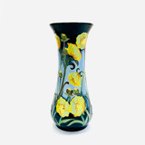 "Moorcroft, ""Butterfield"", 364/8, Vase, Paul Hilditch"