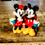 Mickey Mouse and Minnie Mouse, Disney, Figurine, Movie, Theatre, Popcorn, Date,