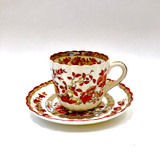 Spode Copeland India Tree Cup and Saucer, Teacup and Saucer, Tea cup and Saucer, Vintage, Antique